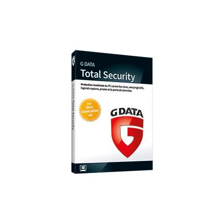 G Data Total Security 1-PC 1 jaar