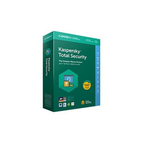 Kaspersky Total Security Multi-Device 5-Devices 2 year Renewal