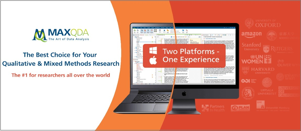 MAXQDA Two Platforms —One Experience